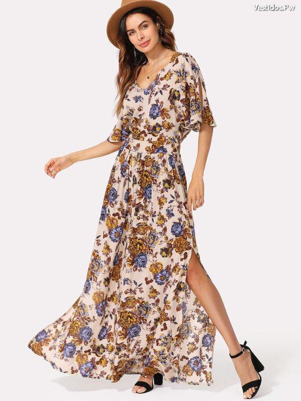 Más de 65 Bellos Vestidos Estampados ¡Modelos Originales! | Vestidos ...