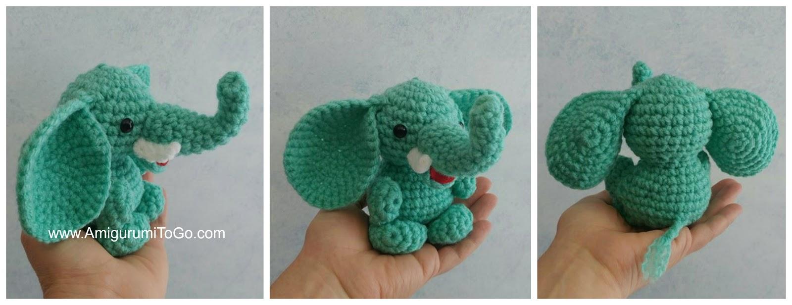 Mini Safari Friends by Amigurumi To Go Free Crochet Patterns Here ...   616x1600