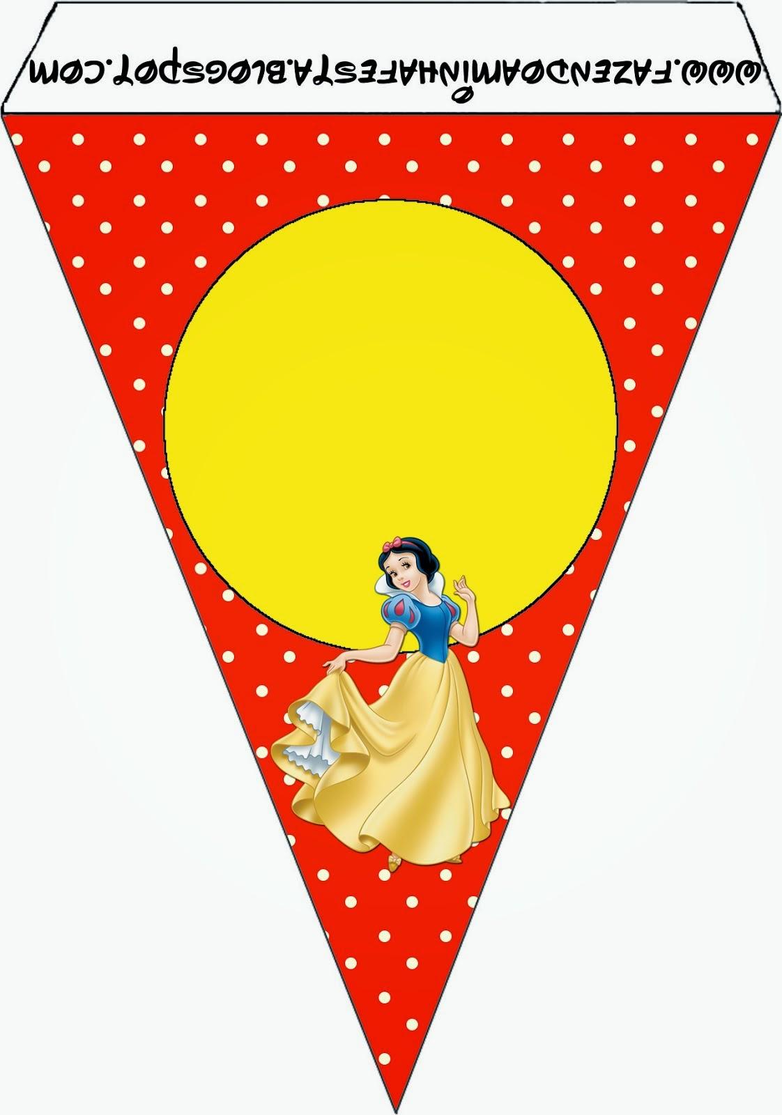 Snow White Free Party Printables