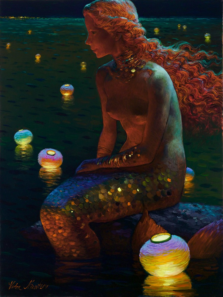 Catherine La Rose Poesia e Arte: Victor NIZOVTSEV ~ Mermaids