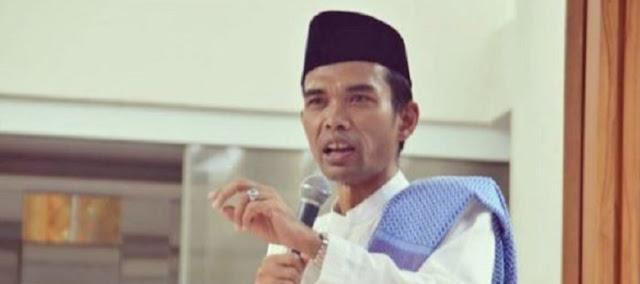 Ustadz Abdul Somad : Angkat Pemimpin yang Bisa Jadi Imam Shalat