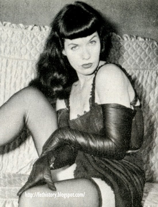 Bettie Page, Richard Pérez Seves