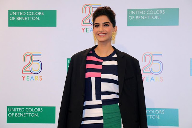 Sonam Kapoor at Celebration Of Benetton India