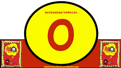 Secret Stories Superhero Vowels® Headbands