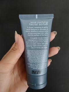 Sensatia Botanicals Acne Clarifying Facial Scrub