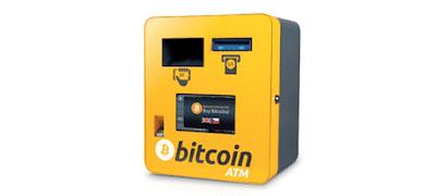 Comprar y vender bitcoins mediante ATM