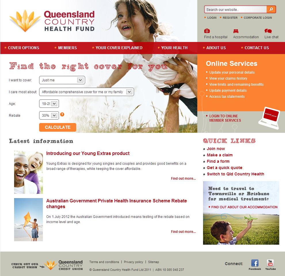 QUEENSLAND COUNTRY HEALTH FUND LTD