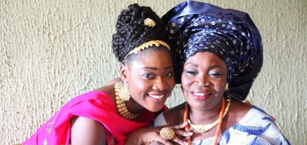 Nollywood Actress, Mercy Johnson Loses Her Beautiful Mother