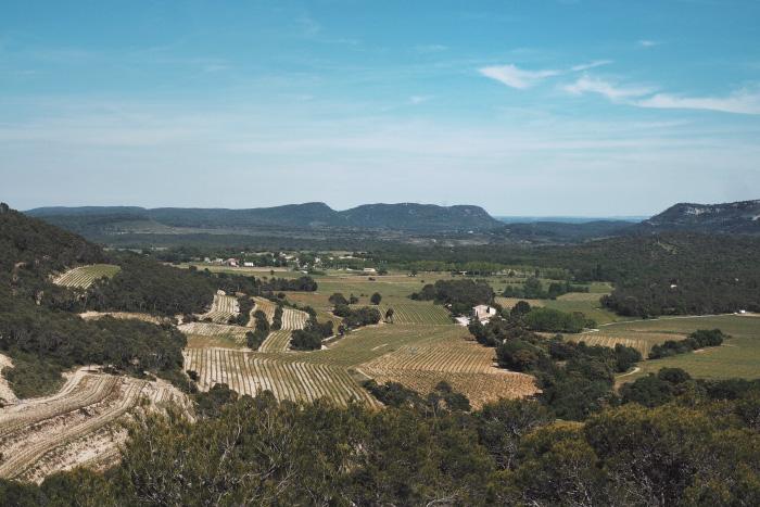 Le Pic Saint Loup près de Montpellier