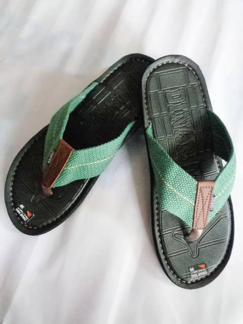 Sandal Spon Dinar MAs Tali hijau