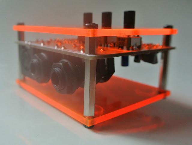 matrixsynth module8 roland tr 808 bass drum clone with midi. Black Bedroom Furniture Sets. Home Design Ideas