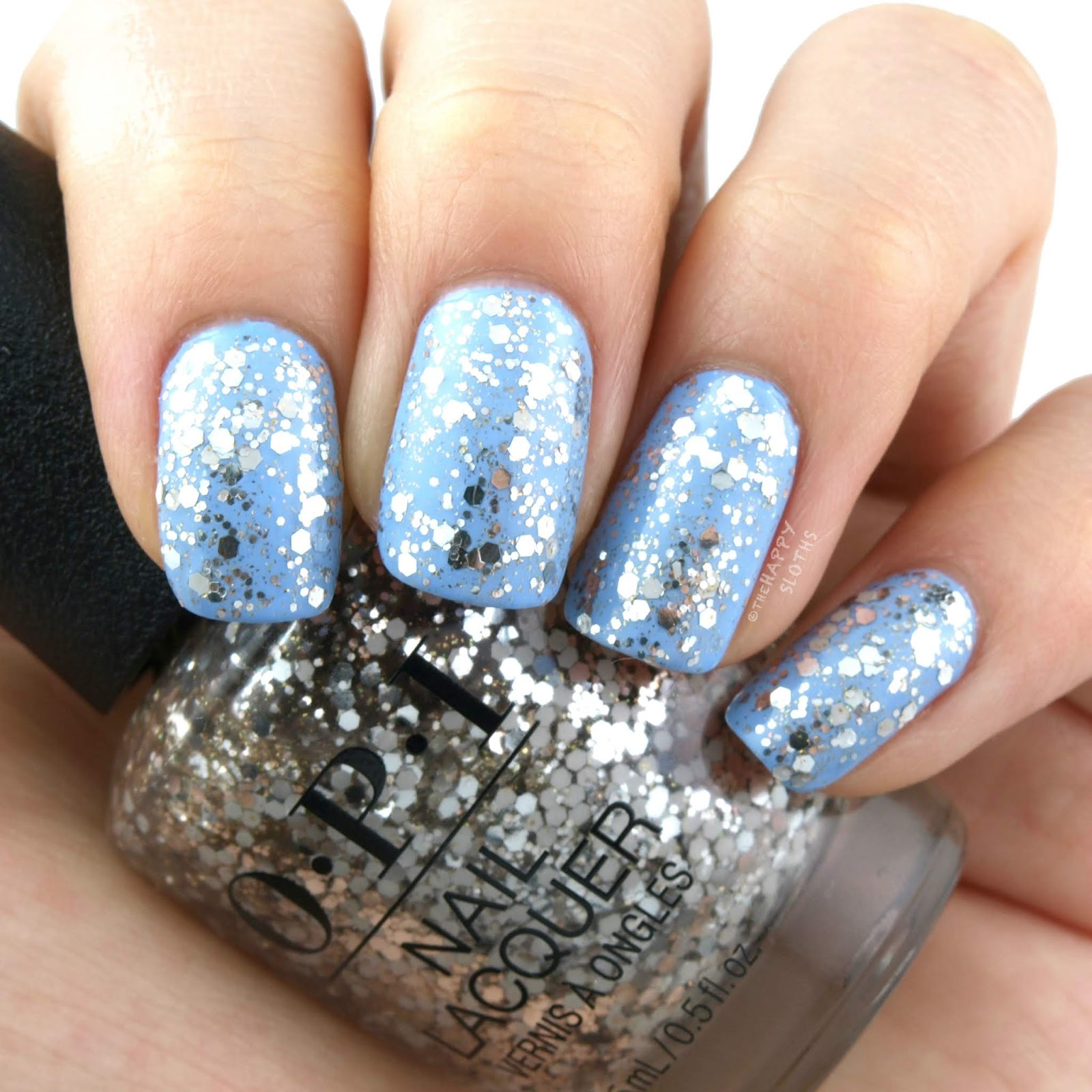 OPI   Holiday 2018 Nutcracker Collection   Dreams on a Silver Platter: Review and Swatches