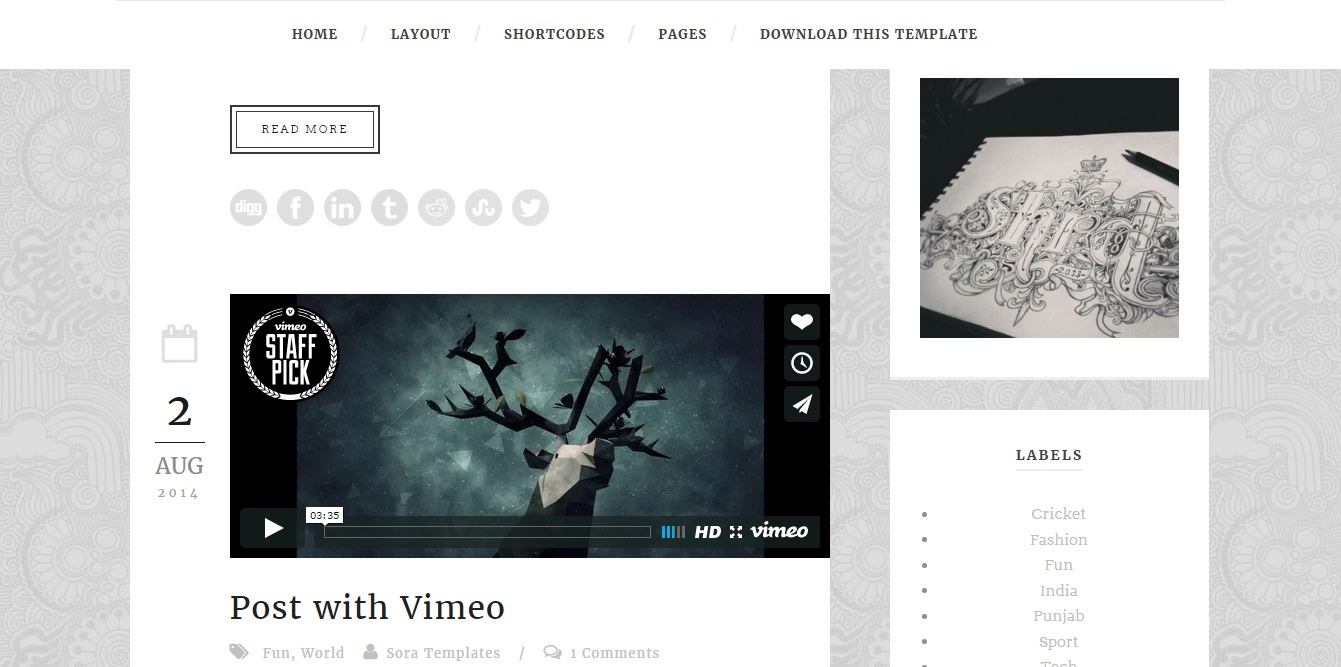 Blogger Template Pography | 10 Amazingly Responsive Free Blogger Templates Visualartzi