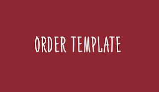 Order Template Premium
