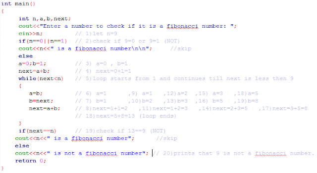 source code find Fibonacci number c++