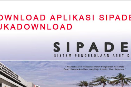 Download Aplikasi Sistem Pengelolaan Aset Desa - SIPADES Terbaru