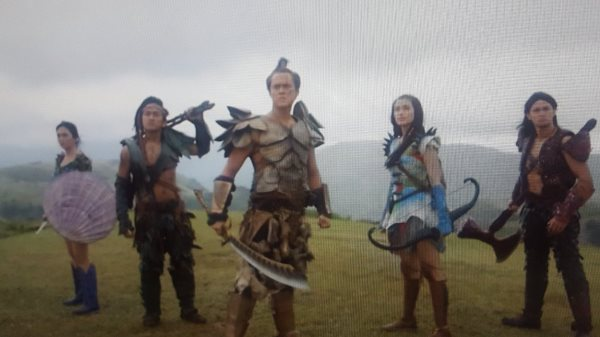 Bagani starring Liza Soberano and Enrique Gil