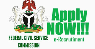 Federal Civil Service Commission (FCSC) Job Recruitment 2018
