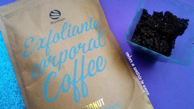 DELIPLUS | Exfoliante corporal a base de café