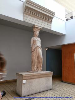 Cariátide en el British Museum