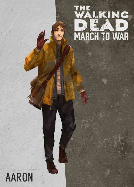 The Walking Dead: March to War - Aaron