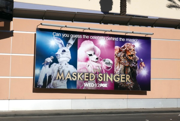 Masked Singer series billboard