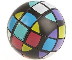 Rubik Plastik Bola Plastik Warna Warni