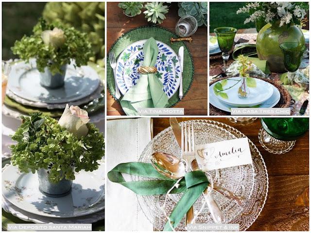 como usar verde na decoração