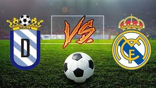 مشاهدة مباراة ريال مدريد و مليلية  بث مباشر