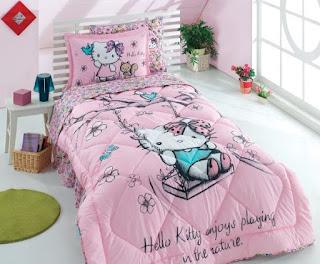 Hello Kitty Nature Tek Kişilik Uyku Seti