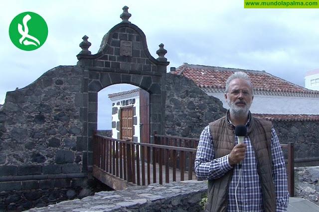Mundolapalma realiza un documental sobre el Real Castillo de Santa Catalina en Santa Cruz de La Palma