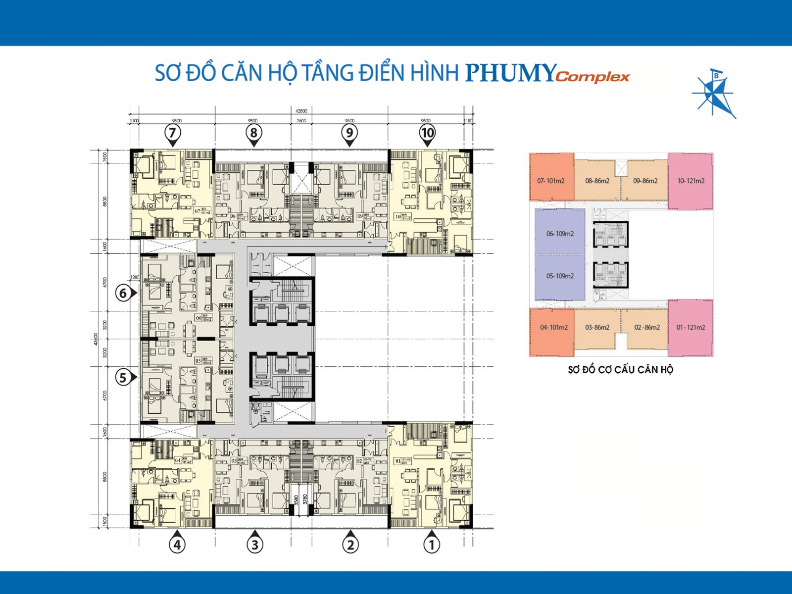 Tổng quan dự án chung cư Phú Mỹ Complex - N01T4 Ngoại Giao Đoàn