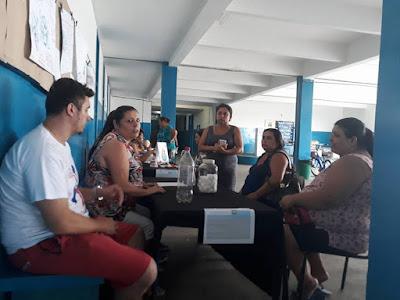 Ação pelo Dia Internacional da Mulher do Programa Escola da Família da Escola Yolanda é sucesso absoluto