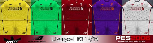3d43196518f ultigamerz: PES 6 Liverpool FC 2019 Full GDB Kits