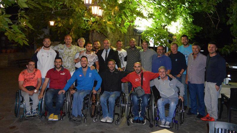 Στην Μαρώνεια η Εθνική Ελλάδος Καλαθοσφαίρισης με Αμαξίδιο