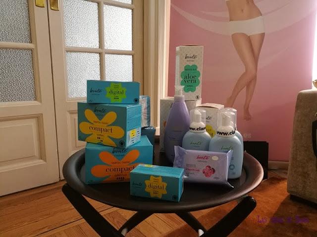 Clarel 28intimo Bonté Lily Cup Compact Intimina copa menstrual higiene femenina IVA