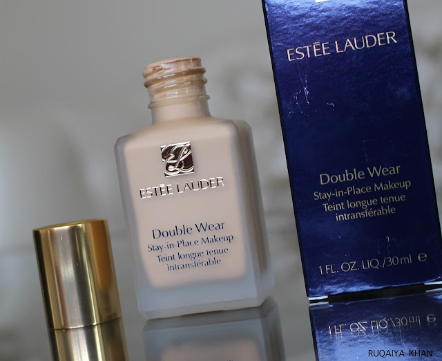 Estee Lauder Double Wear Foundation in Tawny 3W1