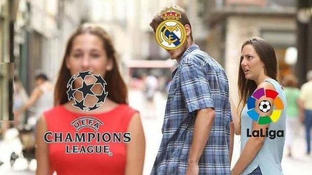El Real Madrid solo tiene ojos para la Champions
