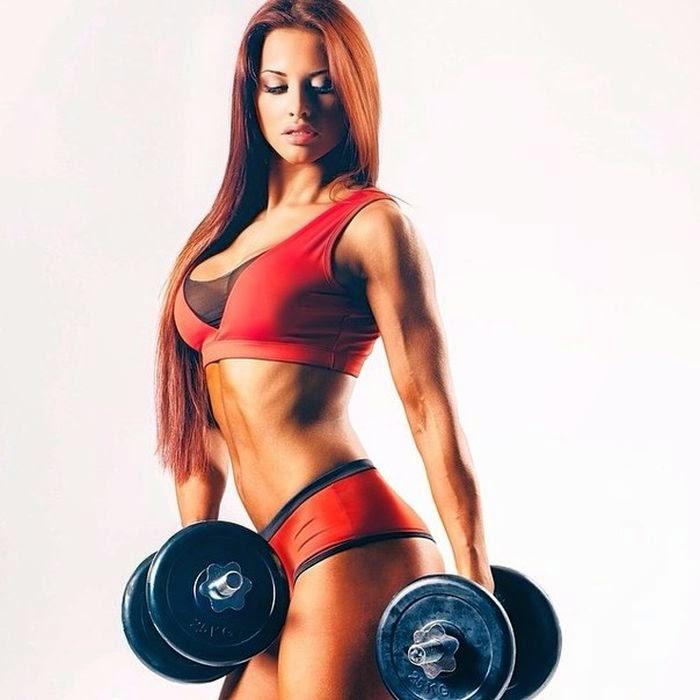 Lyolya Blokhina - fitness