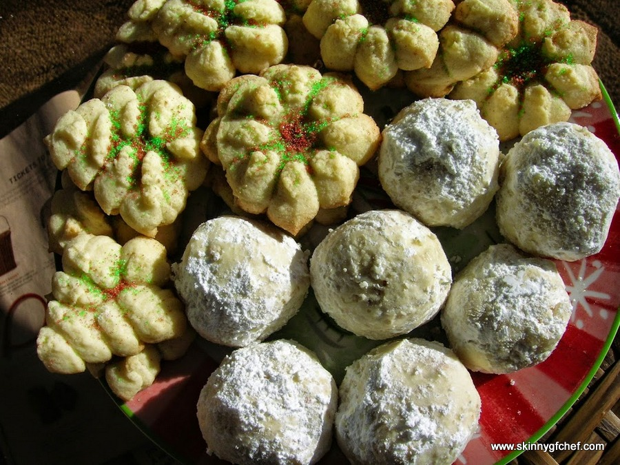 Easy to make and delicious Gluten-Free Russian Tea Cakes or Wedding Cakes