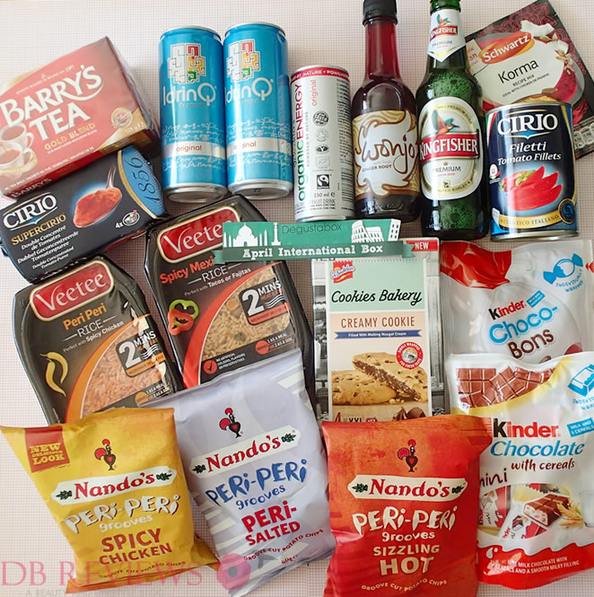 April 2015 Degustabox