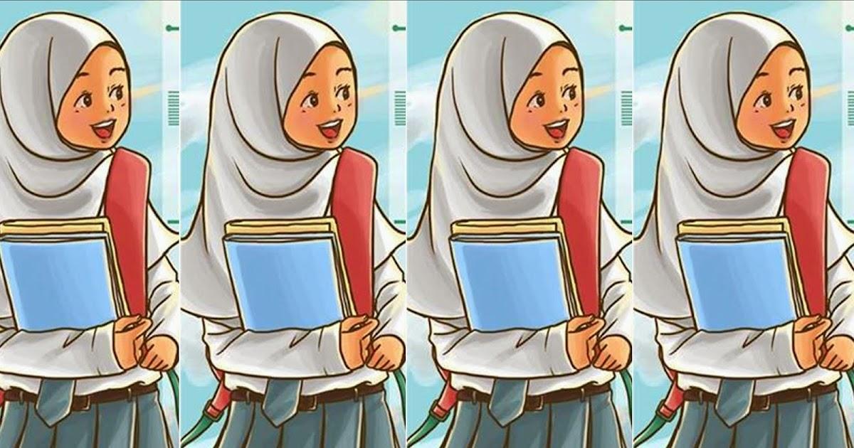 Mirzan Blog S 10 Ide Gambar Kartun Anak Sekolah Sma Perempuan