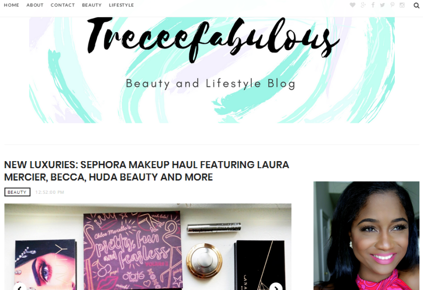 bbloggers, bbloggersca, canadian beauty bloggers, beauty blog, blog of the month, botm, featured blogger, treceefabulous