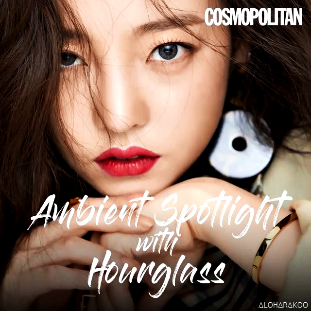 [Captures] Cosmopolitan x HOURGLASS - HARA (Cosmopolitan September 2018 Issue)