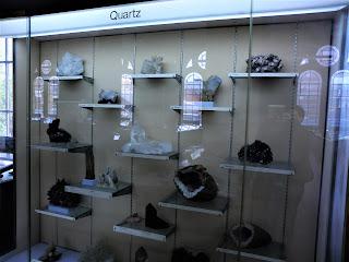 Cuarzos, Museo Historia Natural de Londres