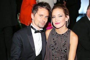 Kate Hudson and Matthew Bellamy: difficulties in paradise?