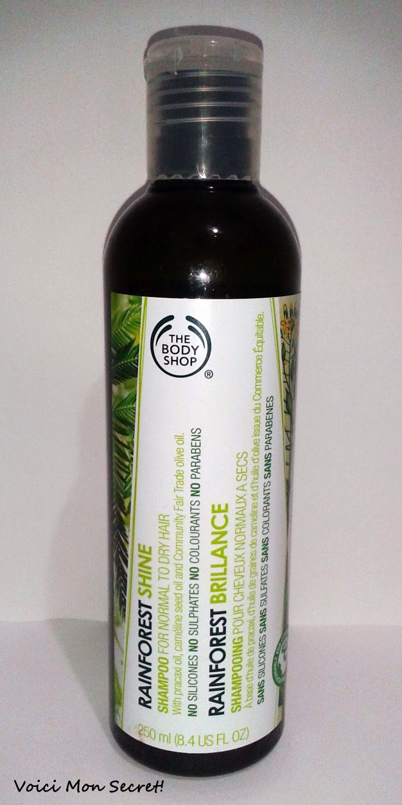Top Five Body Shop Rainforest Balance Shampoo Ingredients