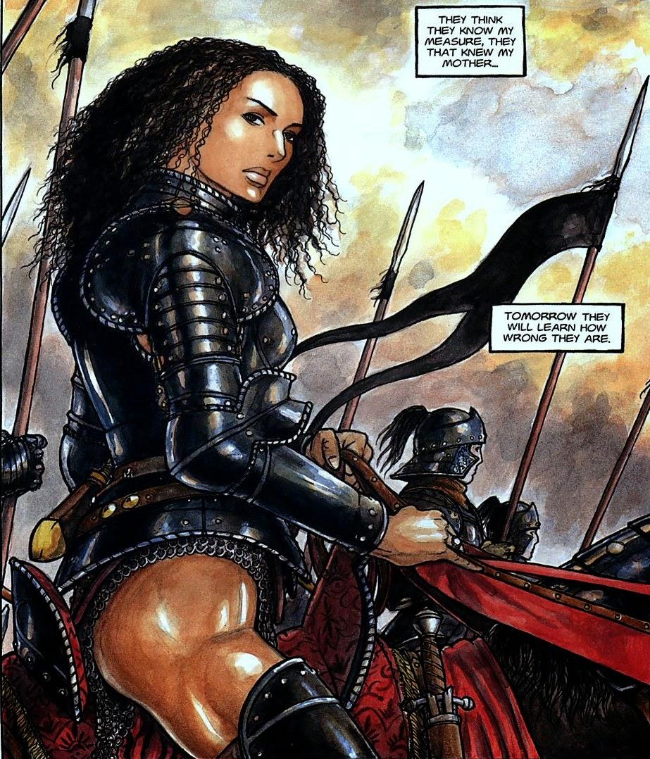 From the Sorcerer's Skull: Wednesday Comics: Artesia