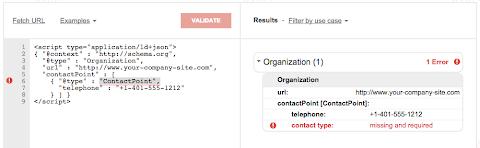 圖說: Google Structured Data Testing Tool 軟體介面,圖片來源: Emerce