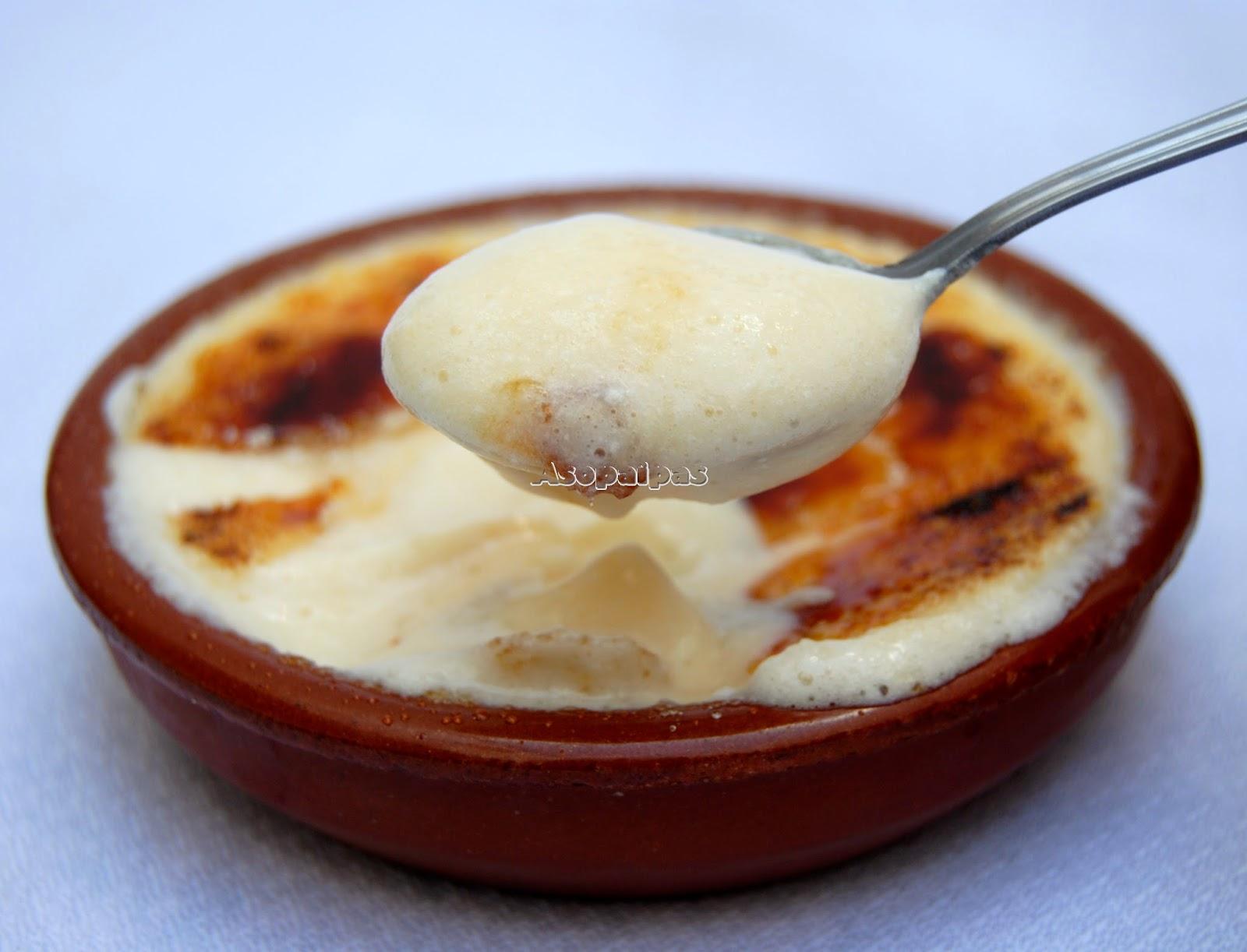 Crema Casera de leche, huevos y limón Portuguesa